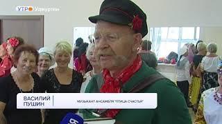 """Зажигательные участницы коллектива """"Птица счастья"""" осваивают песенную грамоту"""