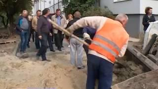 В Калининграде приступили к ремонту набережной Летнего озера