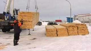 Успели до распутицы. В деревню Нумто завезли материалы для масштабного строительства