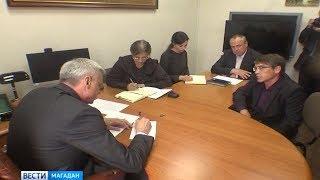 Временно исполняющий обязанности губернатора Магаданской области Сергей Носов провел приём жителей