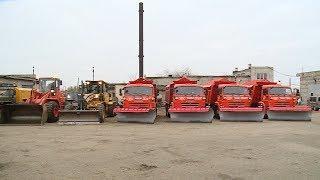 Региональный филиал Упрдор Москва-Волгоград проверяет готовность дорожной техники к зиме