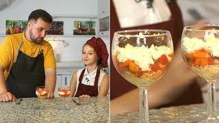 «Первое, второе и компот». Яичный салат и самса