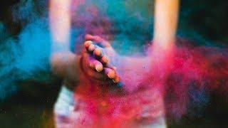 В Лангепасе в один день состоялись фестиваль красок и запуск водяных фонариков