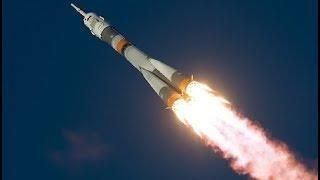 """Старт космического корабля """"Союз МС-11"""". Полное видео"""