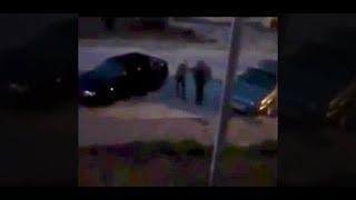 Расстрелял в упор: очевидцы сняли на видео убийство жителя Волжского из-за громкой музыки
