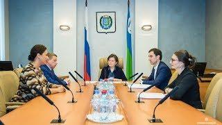 Н. Комарова встретилась с кандидатами на должность директора окружного депспорта
