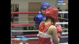 В Чебоксарах  девушки борются за звание лучшей в республиканском боксе