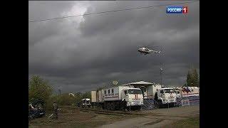 Донские спасатели потушили условный пожар на нефтебазе