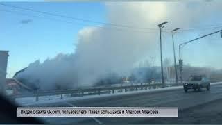 В Ростовском районе сгорело придорожное кафе