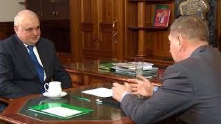 Сергей Цивилёв встретился с главой города Дмитрием Титовым