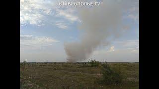 Экосвалка горит на Ставрополье