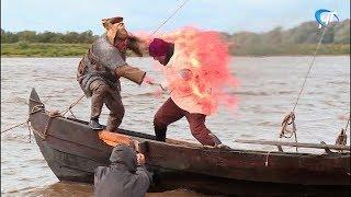 Московские кинематографисты продолжают съемки фильма «Рюриковичи» в Новгородской области