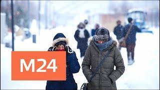 Трескучие морозы ожидают столичный регион - Москва 24