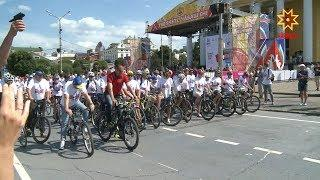 В выходные в Чувашии как и по всей России отметили Олимпийский день.
