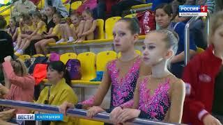 В Элисте стартовал Чемпионат республики по художественной гимнастике
