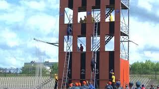 Соревнования команд пожарных-спасателей  стартовали в Биробиджане(РИА Биробиджан)