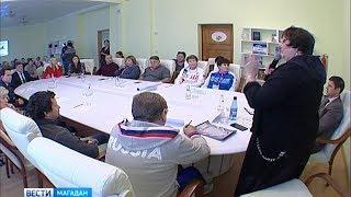 Олимпийские чемпионы встретились с колымскими тренерами
