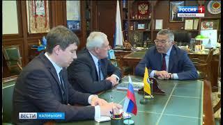 Алексей Орлов  провел встречу   с заместителем руководителя Федерального архивного агентства