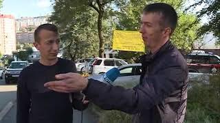 Несколько авто попали в ДТП на Хабаровской