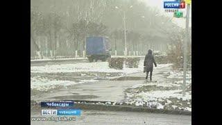 Чувашские дорожники оперативно отреагировали на снегопад