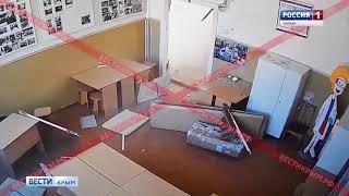 «Вести» обнародовали видео полного пути «керченского стрелка»