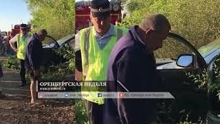 ДТП ГАИ и Citroen в Оренбурге, 14.05.2018