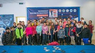Чемпион мира Максим Цветков устроил автограф-сессию в Ханты-Мансийске