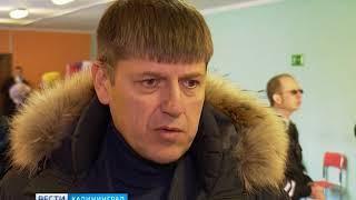 В центральном районе Калининграда поток избирателей хлынул на участки ещё до открытия