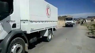 Гуманитарная помощь под обстрелом