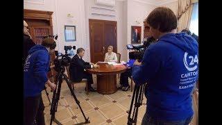Интервью с Володиным