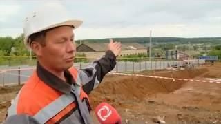 28 08 18 Многофункциональный крытый каток возводят в с. Сигаево (Сарапульский район)