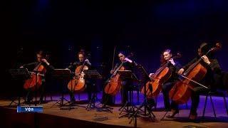 В Уфе свой первый концерт сыграли виолончелисты Национального симфонического оркестра республики
