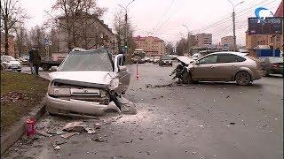 В субботу в Великом Новгороде в ДТП пострадал ребенок