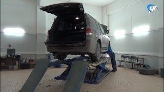 Угнанный в Великом Новгороде автомобиль нашли в Пермском крае