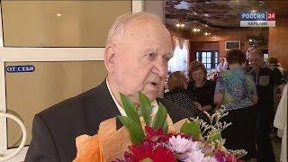 Ветеран, почетный гражданин Петрозаводска Андрей Иванович Филимонов отметил 90-летие