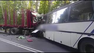 В Варминьско-Мазурском воеводстве произошло смертельное ДТП с участием школьного автобуса