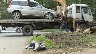 Женщина-водитель погибла в страшном ДТП в Артеме