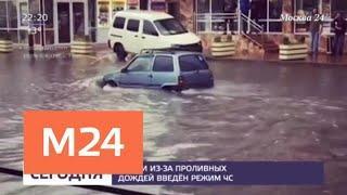 В Сочи из-за проливных дождей введен режим ЧС - Москва 24