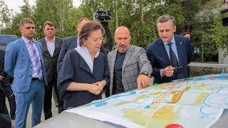 Губернатор Югры проверила, как в Ханты-Мансийске работает система оповещения