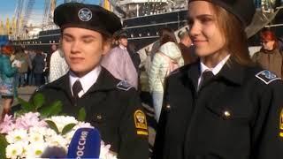 Курсанты и студенты Балтийской государственной академии принесли присягу