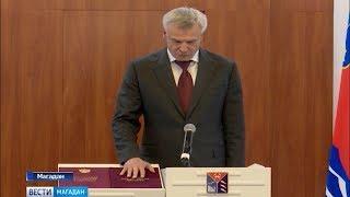 Инаугурация губернатора Магаданской области Сергея Носова