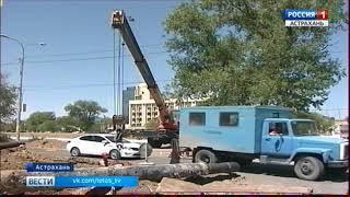 Губернатор Астраханской области раскритиковал работу городской власти на улице Красная Набережная