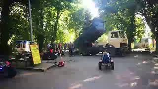 При проведении работ в парке не ограничили доступ детям