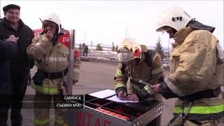 """В Саранске """"горел"""" новый терминал аэропорта"""