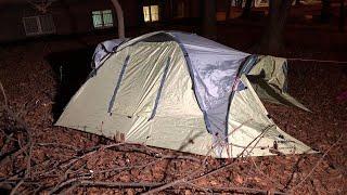 Протестующие в Кунцево поставили палатки   Москва