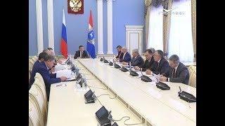 Губернатор обсудил бюджет с депутатами Госдумы и членами Совета Федерации от Самарской области