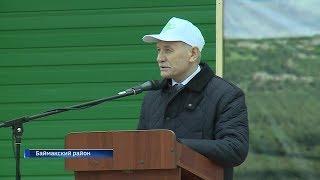 Рустэм Хамитов поздравил жителей Зауралья с окончанием весенне-полевых работ
