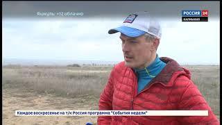 Дмитрий Ерохин добежал в Элисту
