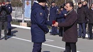 Губернатор Кубани встретился с участниками марш-броска в честь столетия Красной армии