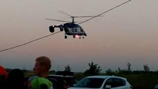 Для осмотра местности к поискам пропавшей привлекли вертолет